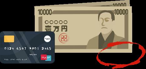 宿泊時の決済(※現地決済)は現金・クレジットカードの併用が可