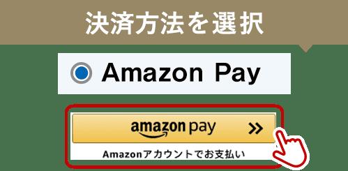ログイン状態にてAmazon Payまたはクレジットカード決済で寄附申し込みを完了