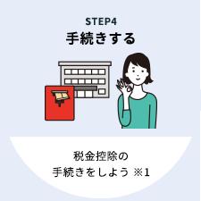 STEP1 手続きする