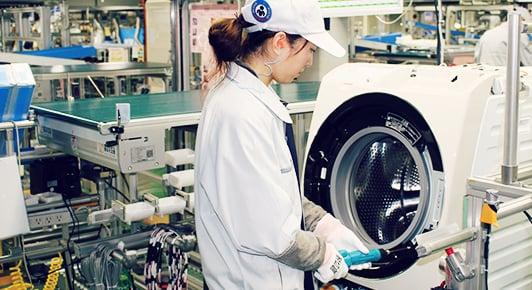 優れた生産システムと連携し高品質を実現