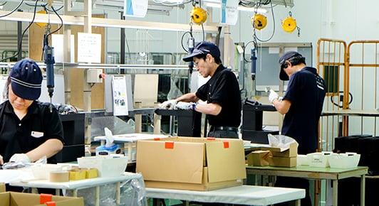 工場増強で、高品質へのこだわり