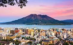 桜島など火山の噴火の恩恵を受けています