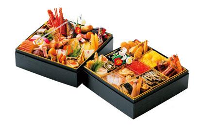 おせち 和食おせち二段重 四季 ホテルクラウンパレス浜松