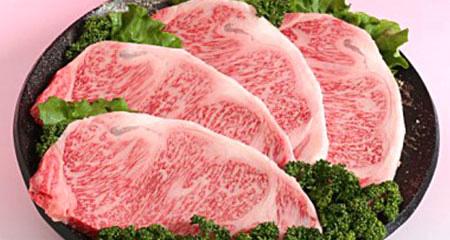 B6-① 鹿児島県産黒毛和牛ロースステーキ(サーロイン)合計約800gゆず胡椒つき!!