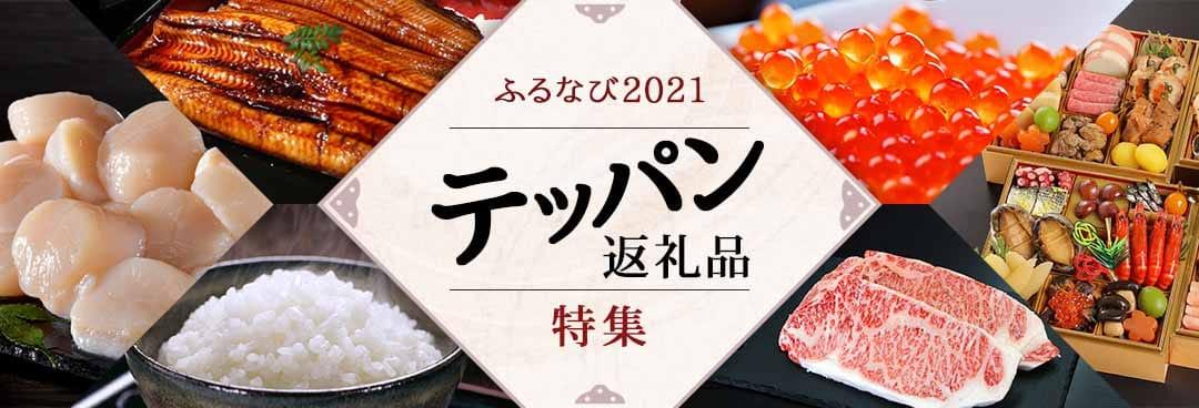 ふるなび2021 テッパン返礼品特集