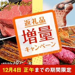 【期間限定】返礼品増量キャンペーン