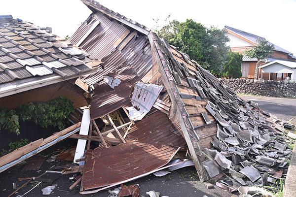長崎県五島市 令和2年 台風10号 災害支援