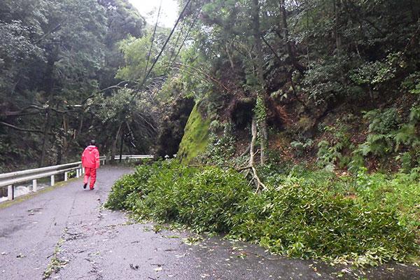 長崎県波佐見町 令和2年台風10号 災害支援