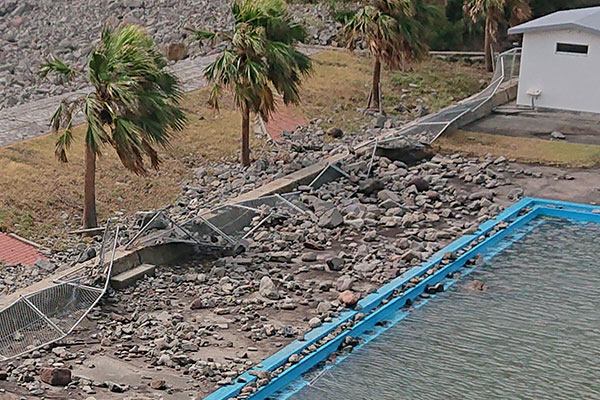 鹿児島県枕崎市 令和2年台風10号 災害支援
