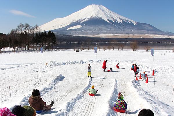 山中湖村雪まつり
