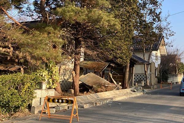 福島県伊達市 令和3年2月 福島県沖地震 災害支援