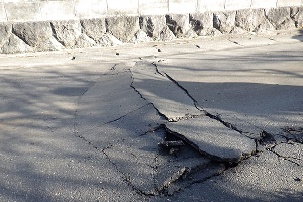 福島県田村市 令和3年2月 福島県沖地震 災害支援