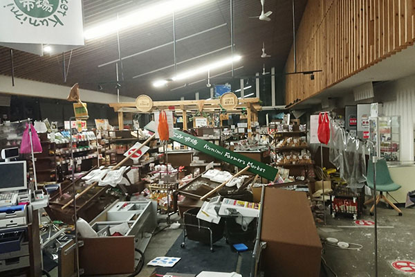 福島県国見町 令和3年2月 福島県沖地震 災害支援