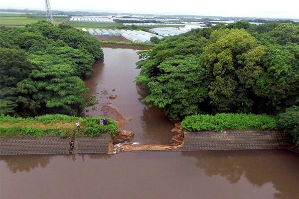 【鳥取県北栄町】令和3年7月豪雨 災害支援