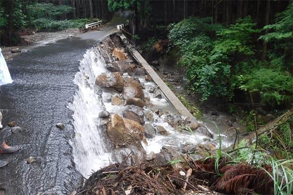 【鳥取県八頭町】令和3年7月豪雨 災害支援