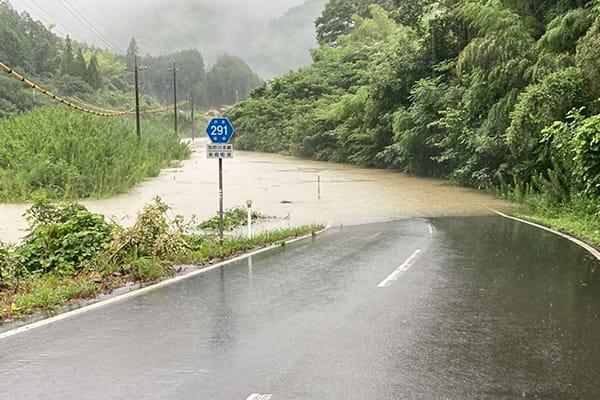 【島根県美郷町】令和3年8月豪雨 災害支援