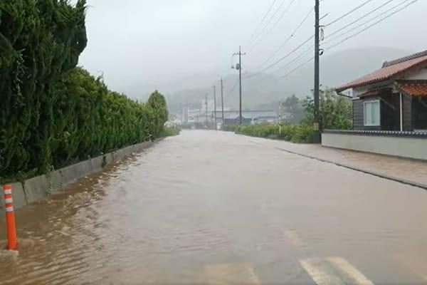 【島根県海士町】令和3年8月豪雨 災害支援
