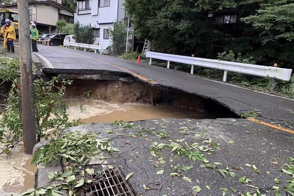 【長野県下諏訪町】令和3年8月豪雨 災害支援