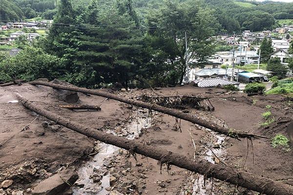 【長野県岡谷市】令和3年8月豪雨 災害支援