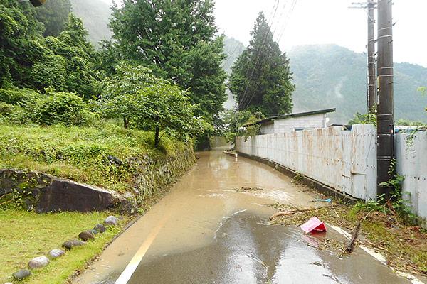 岐阜県七宗町 西日本豪雨 災害支援