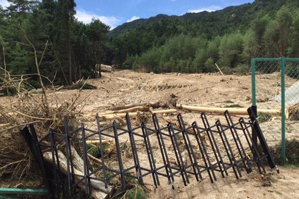 京都府亀岡市 平成30年7月豪雨 災害支援