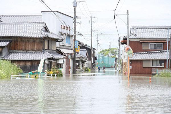 福岡県久留米市 平成30年7月豪雨 災害支援