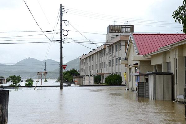 岡山県笠岡市 平成30年7月豪雨 災害支援