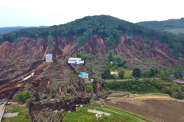 北海道厚真町 北海道胆振東部地震 災害支援