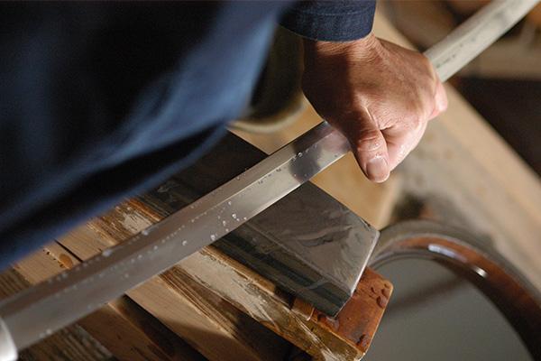 刀工の写真