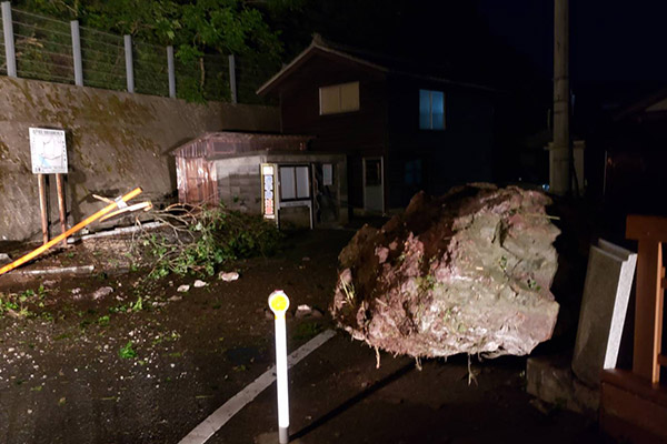 新潟県村上市 山形県沖地震 災害支援