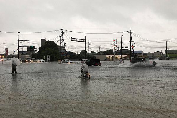 佐賀県佐賀市 令和元年8月豪雨 災害支援