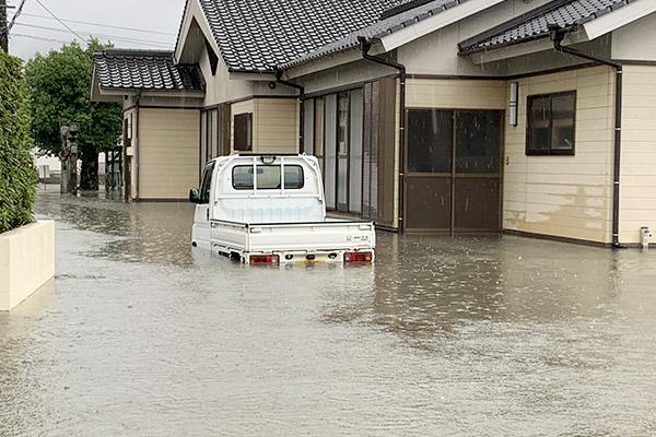 佐賀県小城市 令和元年8月豪雨 災害支援