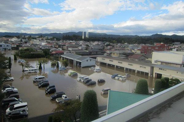 宮城県角田市 令和元年台風19号 災害支援