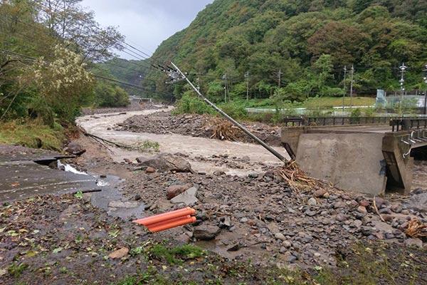 群馬県嬬恋村 令和元年台風19号 災害支援