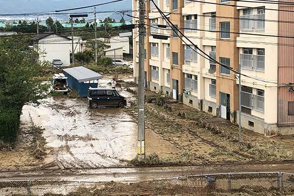 長野県須坂市 令和元年台風19号 災害支援