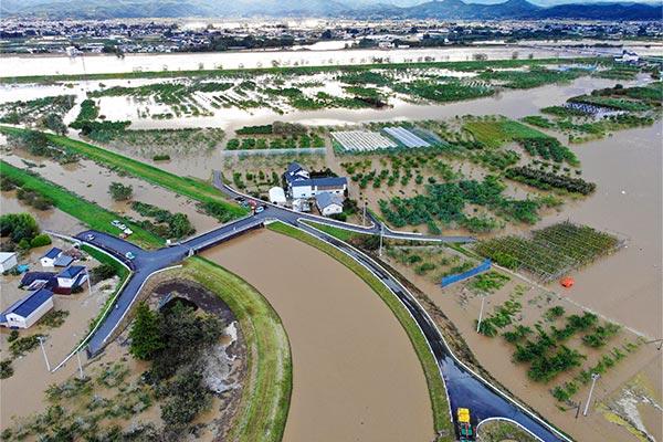 福島県桑折町 令和元年台風19号 災害支援