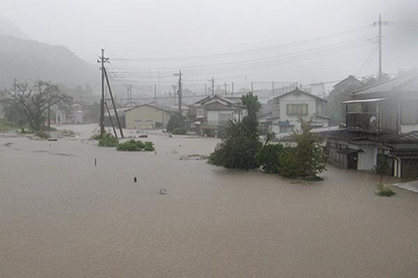 群馬県下仁田町 令和元年台風19号 災害支援