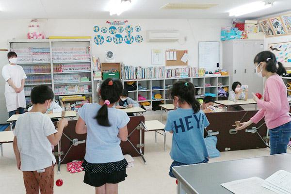 放課後児童クラブ活動の様子
