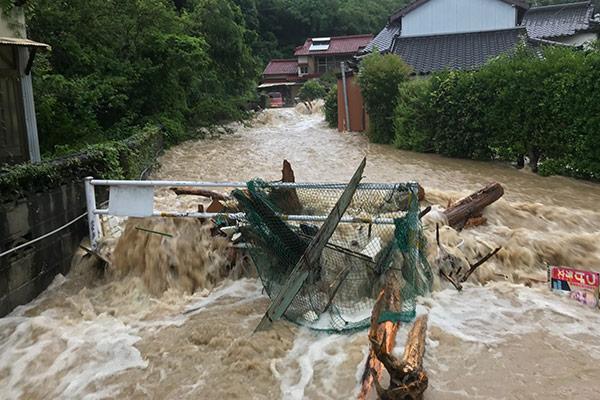 熊本県天草市 令和2年7月 九州豪雨 災害支援