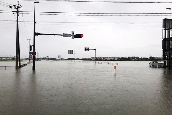 福岡県久留米市 令和2年7月 九州豪雨 災害支援