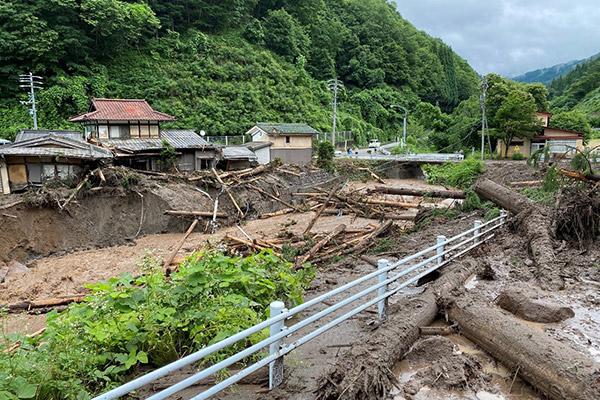 >岐阜県高山市 令和2年7月 豪雨 災害支援