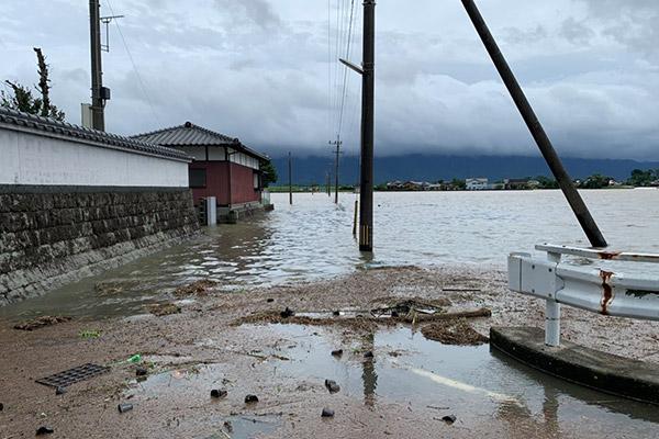 福岡県朝倉市 令和2年7月 九州豪雨 災害支援
