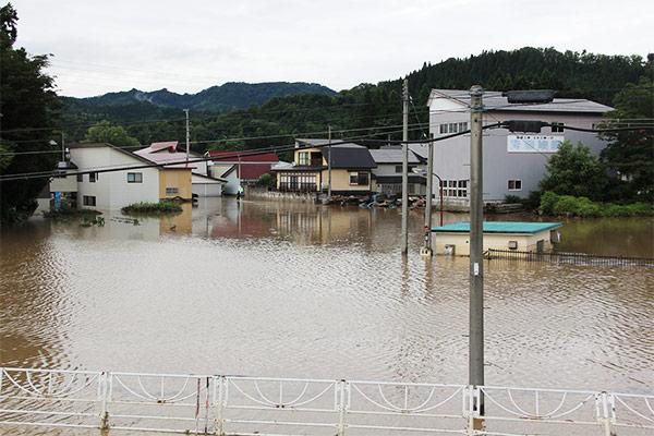山形県大石田町 令和2年7月大雨・最上川氾濫 災害支援