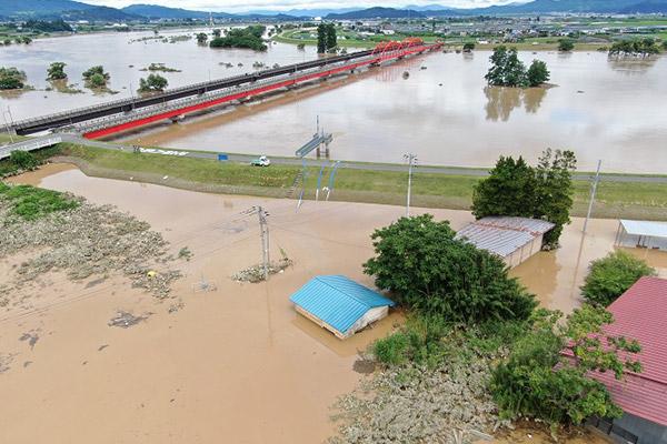 山形県河北町 令和2年7月大雨 災害支援