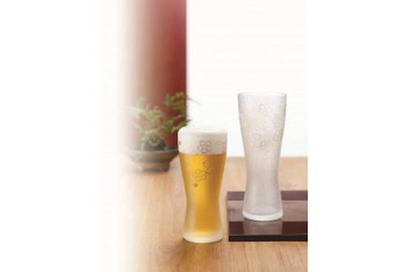 【2619-0042】石塚硝子製ペアグラス(ビアグラス)