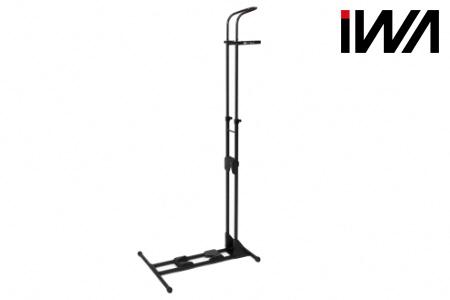 【2619-0152】スポーツバイク 縦・横兼用スタンド iWA A01V Specialブラック×ブラック
