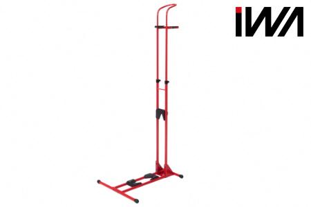 【2619-0154】スポーツバイク 縦・横兼用スタンド iWA A01V Specialレッド
