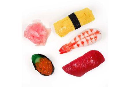 食品サンプルマグネット お寿司5個セット【1209960】