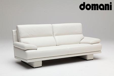 【2629-0135】[カリモク家具:ドマーニ]総本革張りソファA【ZSA323モデル】