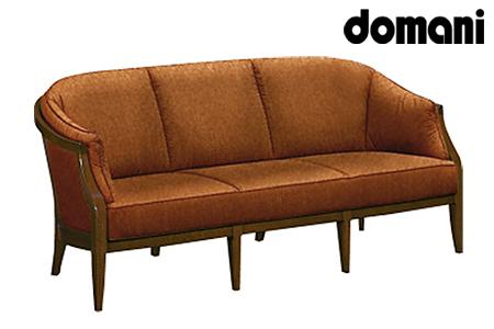【2629-0147】[カリモク家具:ドマーニ]ソファー3P 【WHA623モデル】